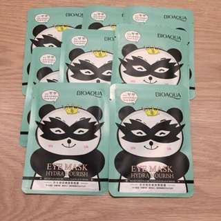 📮Free normal mail 📮Highly Raved BioAqua Hydra Nourish Eye Mask❗️15g per sheet. Bye bye to dark circles + improve fine lines, firming muscles under the eye. Selling at $1.50/pc.   ✔️ Expiry date : Year 2019 ✔️