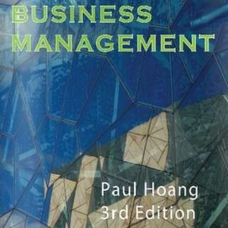 business management paul hoang 3rd edition pdf