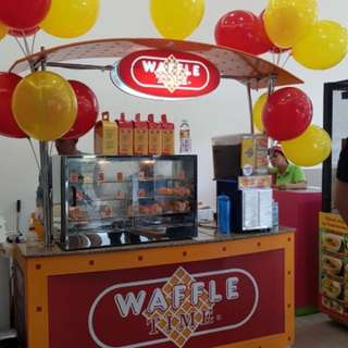 Waffle Time food cart for Hire (for parties, events,etc)