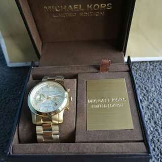 Michael Kors Watch Limited Edition New York Ladies Watch (MK 5662)