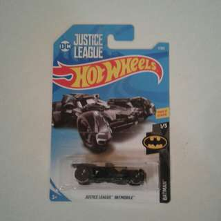 Basic Cars DC Justice League Batmobile