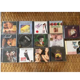 Movies music original CD