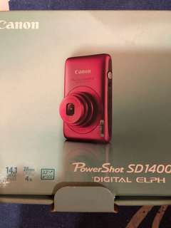 Canon Powershot SD1400