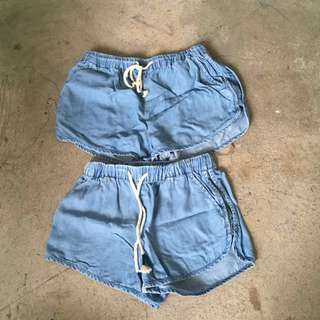 Denim Shorts for 8 and 10 Years Old Girls