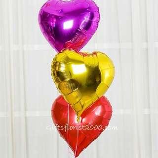 """18"""" Heart Shape Balloons"""