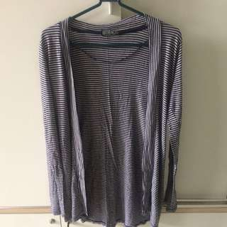 CottonOn - Blu Stripes Cardigan