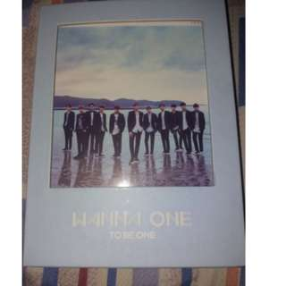 ON HAND UNSEALED Wanna One - 1st Mini Album To Be One