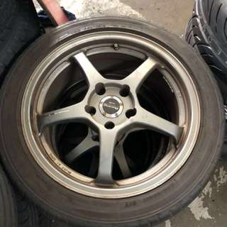 Enkei Light Weighted 17 Inch Rims