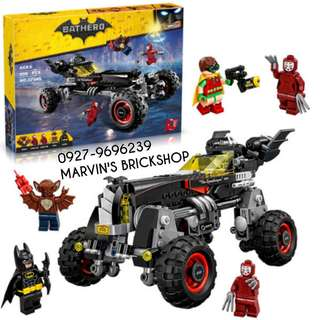 For Sale Batman Movie Batmobile Building Blocks Roy