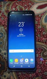 Samsung galaxy s8 open for swap