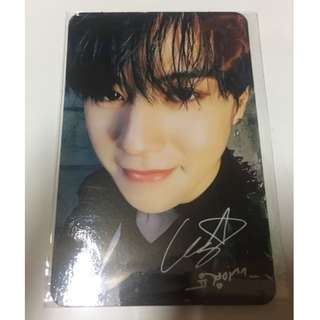 ON HAND OFFICIAL GOT7 Yugyeom Flight Log: Arrival [Making] PHOTOCARD