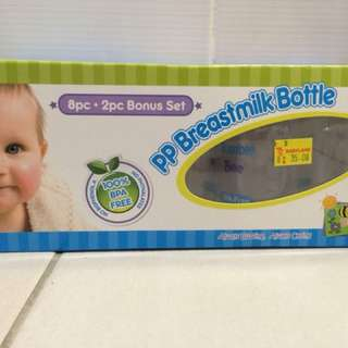 Bumble bee breastmilk bottles 10pcs
