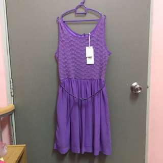 REDUCE!!  Purple Dress