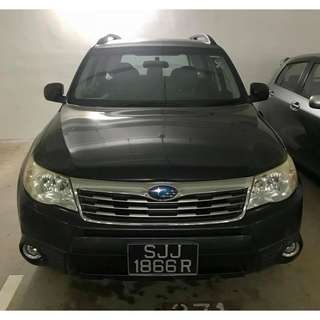 Subaru Forester (UBER & GRAB Enabled)