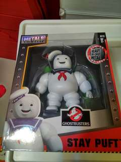 Metal Die Cast Stay Puff 綿花糖鬼 Ghostbusters