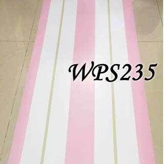 WPS235 PINK WHITE GOLD LINE