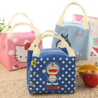 portable tote bag cartoon