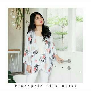 Pineapple blie outer by unico