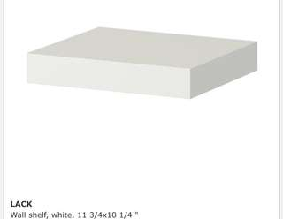 Ikea Lack Shelf (White)