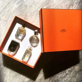 Authentic Hermes mini perfumes