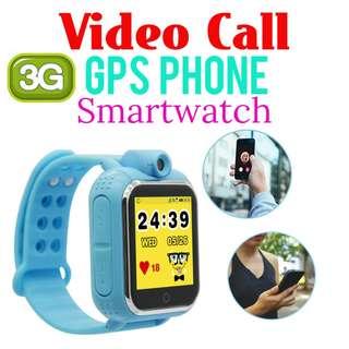 WhatsApp Video Call GPS Tracking Watch