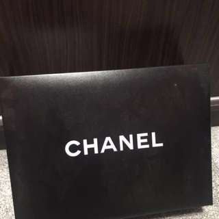 Authentic Chanel box, Chanel paper bag, Camilla flowers , care booklet, ribbons for sale