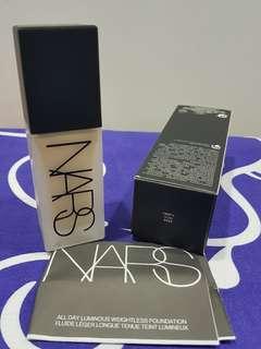 NARS All Day Luminous Weightless Foundation Shade light 3 [ Gobi ]