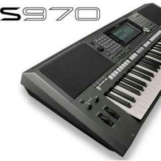 Dijual KeyBoard Yamaha PSR S970 Promo Dp 0% + Free 1x Angsuran