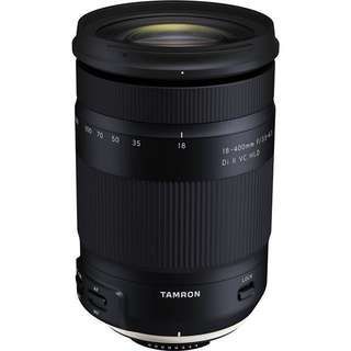 Tamron 18-400mm f/3.5-6.3 Di II VC HLD Lens for nikon and Canon ef-m