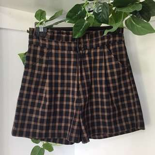 Princess Highway High Waisted Gingham Shorts