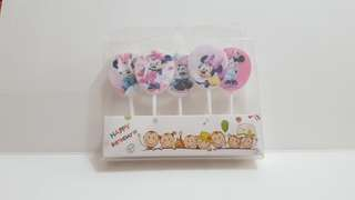 Minnie Mouse Birthday Candles