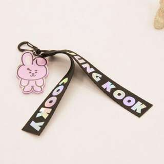 BTS CARTOON CHARACTER LANYARD