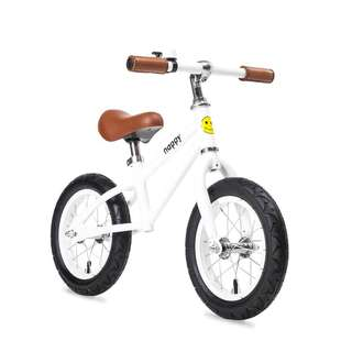 BNIB Happy Bikes Balance Bike - Bailey (White)