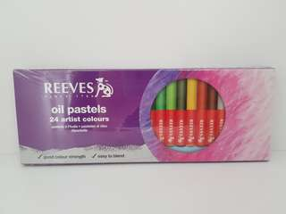 *bn* Reeves Artist Grade Oil Pastels (24 colours)