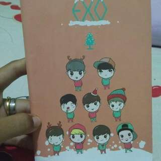 Exo Happy Planner 2018 mini notebook