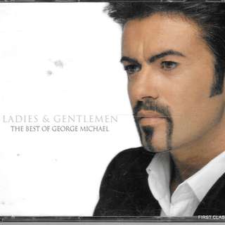 MY PRELOVED CD - GEORGE MICHAEL - THE BEST OF IN 2 CDS- LADIES & GENTLEMEN /- /FREE DELIVERY (F7L))