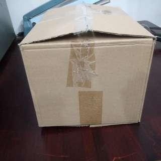二手單層紙箱 9成新