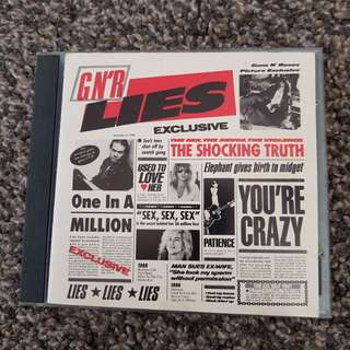 Guns N' Roses – G N' R Lies (1998) CD
