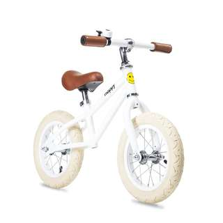 BNIB Happy Bikes Balance Bike - Dakota (White)