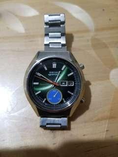 七十年代精工計時鋼錶