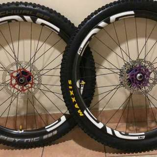 Enve AM 27.5 with Chris King Hubs