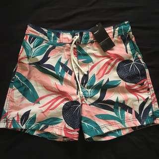 H&M floral swim shorts