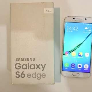 90% 新 Samsung 香港行貨 三星 Galaxy S6 Edge 白色 White 64GB