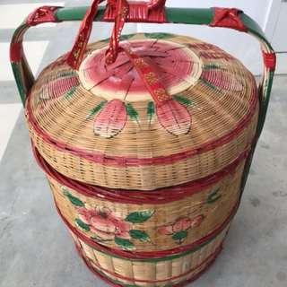Wedding basket (Guo Da Li) 过大礼竹篮
