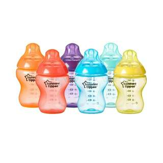 Brand New Tommee Tippee Closer to Nature Fiesta Bottles 260ml