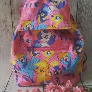 Kid Sized Drawstring Backpack Bag