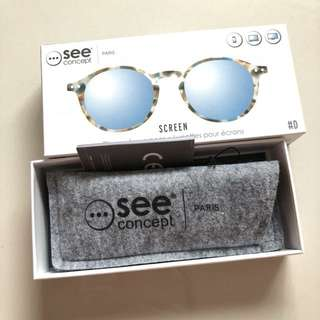 See concept glasses for screens