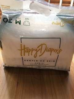 Happy Diapers, pampers motif M30 #123moveon