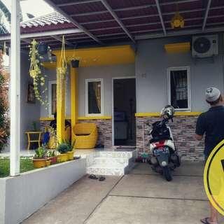 Over kredit / jual rumah full renovasi di sawangan
