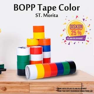 ST. MORITA - OPP TAPE 45 mic - LAKBAN 48 mm x 91 m - Green